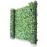 Mendler Balkonsichtschutz Buchenhecke, Windschutz Verkleidung für Terrasse Zaun ~ 300x150cm