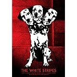 Rayas blancas 13/07/07Halifax, NS edición limitada de la pantalla de seda impresión Póster por Rob Jones Original firmado y numerados con: rayas blancas, Dan Sartain