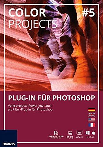 FRANZIS COLOR projects 5 Plug-in für Photoshop|1|Für bis zu 3 Geräte|zeitlich unbegrenzt|Photoshop Plug-in für Windows PC & Mac|Disc|Disc