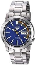"""Seiko Men's SNKK27""""Seiko 5"""" Stainless Steel Automatic Watch"""