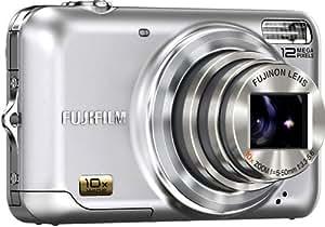 Fujifilm Finepix JZ300 Digitalkamera (12 Megapixel, 10-fach opt.Zoom, 6,9 cm Display, Bildstabilisator) silber