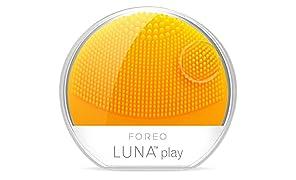 FOREO LUNA play Sonic Reinigungsgerät für das Gesicht,Sunflower Yellow