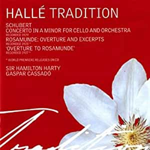 Concerto In A Minor For Cello (Harty, Halle Orchestra)