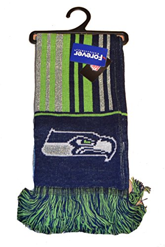 Knit Winter-schal (Forever Collectibles NFL Glitzer Schal-Offizielles Team Logo Fußball Winter Knit Schals, Seattle Seahawks - SMU)