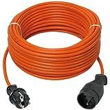 Ribitech - prepj40315r - Prolongateur électrique jardin 40m