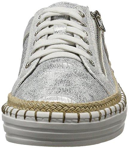 La Strada 963882, Sneakers basses femme Argenté