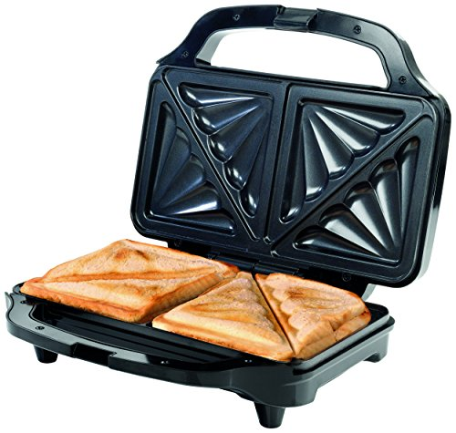 Salter EK2017S Piastra tostapane elettrica per 2 toast ben imbottiti