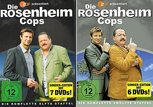 Die Rosenheim Cops - Staffel 11 & 12 (13 DVDs)