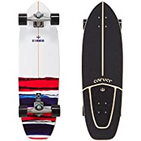 Carver USA Resin 32.50-inch Truck CX.4 Raw Surfskate Completo