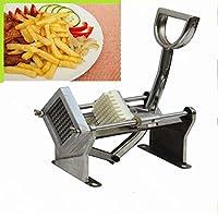 Nueva inoxidable eléctrico manual de patatas Chips Panificadora/cortador de patatas fritas