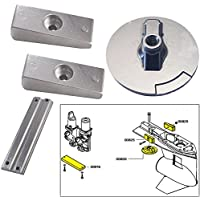 Tecnoseal ánodo Kit w/Hardware–Mercury Verado 4–Zinc