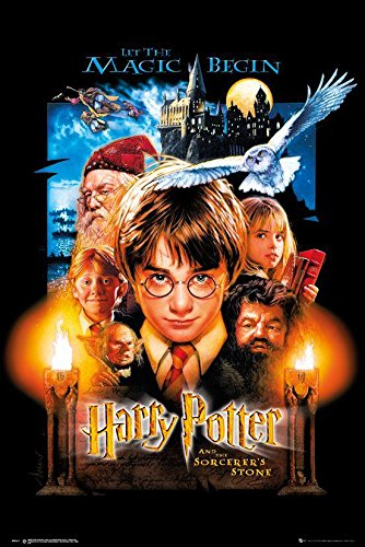 Póster Harry Potter and The Sorcerer's Stone - HP