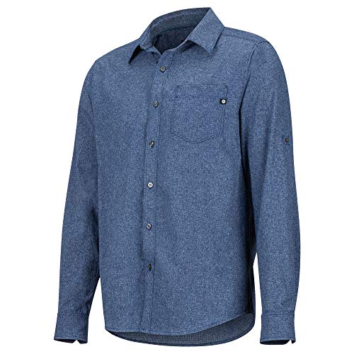 Arctic Blue T-shirt (Marmot Aerobora LS Herren Arctic Navy Größe XL 2019 Langarmshirt)