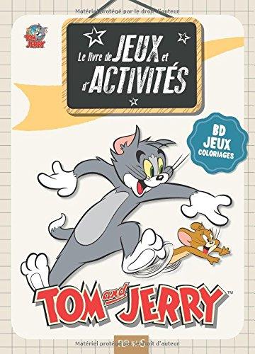 Livre de jeux et d'activits, Tom and Jerry