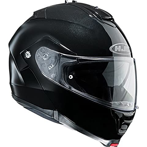 HJC IS-MAX 2/II Flip Front Up Sun Visor Motorbike Motorcycle Helmet - Black 2XL