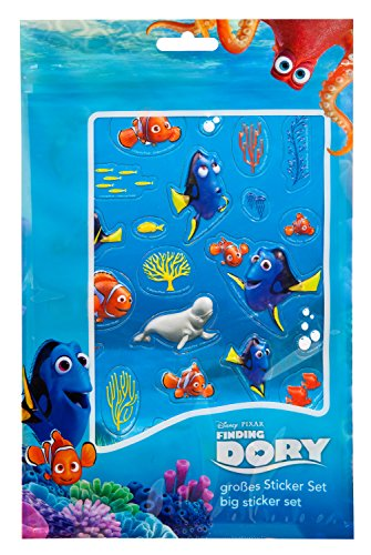 Undercover FDCW8126 - Trolley Disney Pixar Findet Dorie, ca. 36 x 25 x 10 cm Großes Sticker Set