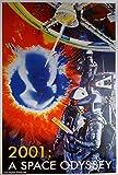 2001: Odyssee im Weltraum: B (1968) | Import Filmplakat, Poster [68 x 98 cm]