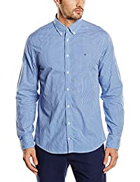 Tommy Hilfiger Men's IVY Checkered Long Sleeve Casual Shirt