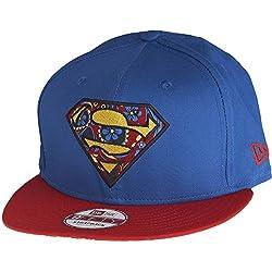 New Era Floral Infill Superman 9Fifty Strapback Cap Adjustable Basecap