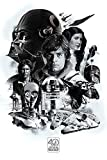 STAR WARS 40th Anniversary (Montage) 61 x 91.5 cm Maxi Poster