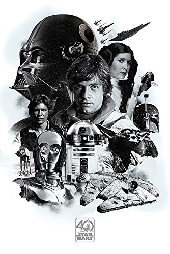 Pyramid International – Póster Star Wars 40º