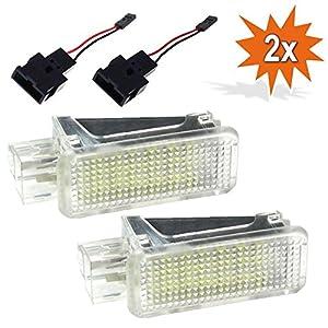 2x Do!LED ADR18 LED SMD Innenbeleuchtung Innenraum Fußraum Kofferraum Einstiegs/Türbeleuchtung Xenon Optik