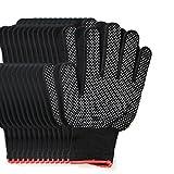 MyLifeUnit Gartenhandschuhe für Damen & Herren, 6 Paar, schützende zweite Haut, Arbeitshandschuhe,GrößeM, GL16QH065