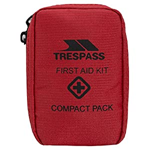 51gGG6fUK8L. SS300  - Trespass Help, Red, First Aid Kit, Red