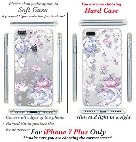 iPhone 7custodia, Casesbylorraine carino modello custodia rigida in plastica per Apple iPhone 7, I33, iPhone 7 Plus Hard Case I33