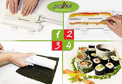 Sushi Bazooka Selber perfektes Sushi machen!