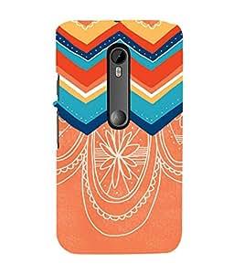 Ebby Printed back cover for Moto G3 / Moto G Turbo(Premium Designer case)