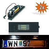 Do. LED 16Z Plaque Minéralogique à LED pour plaque d'immatriculation avec éclairage TÜV Plaque d'immatriculation Leuchten Xenon Blanc avec certification E4