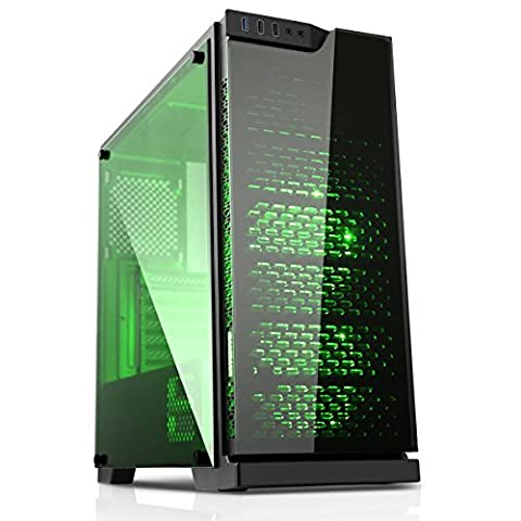 ULTRA FAST BLOODSTONE RGB Gaming Computer Desktop PC - Intel Core i5 / Intel Core i7 CPU - 8GB 1600MHz / 16GB 1600MHz Memory - 500GB / 1TB / 2TB HDD Storage - 240GB / 480GB SSD - Nvidia GeForce GTX 1050 Ti 4GB GDDR5 HDMI Graphics Card - Genuine Windows 10 64Bit - 150Mbps FAST WIFI - ***1 Year Warranty*** (Intel Core i5 CPU, 8GB RAM - 1TB HDD)