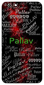 Pallav (Young Shoots & Leaves) Name & Sign Printed All over customize & Personalized!! Protective back cover for your Smart Phone : Vivo Y55L