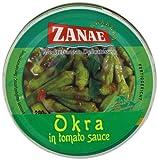 Zanae Okra in Sauce 280 g (Pack of 6)