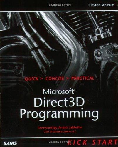 Direct3D Programming Kick Start (Kickstart Series)