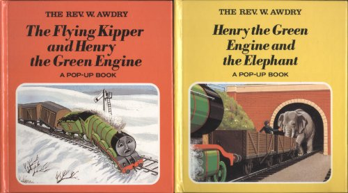 Henry the green engine and the elephant : a pop-up book