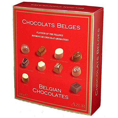 Belgische Pralinés Auswahl 500g MHD: 14.10.2018