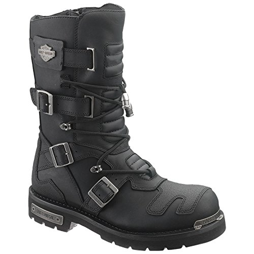 Harley Davidson Mens Axel Leather Long Boots