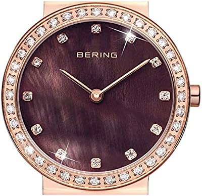 Bering Ceramic - Reloj de cuarzo  color marrón