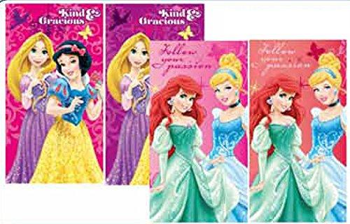 Disney Princess Set di 4asciugamano bambini asciugamano 35x 65cm