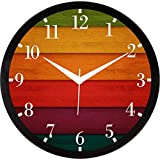 IT2M 11.75 Inches Designer Wall Clock For Home/Living Room/Bedroom / Kitchen (9208)