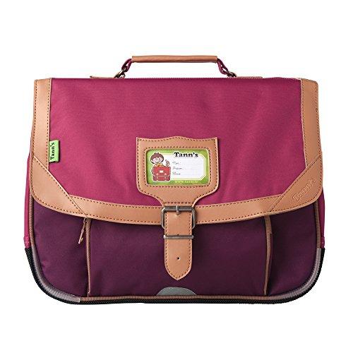 Tann's Zaino Scuola, rose - violet (Multicolore) - T5CL-CA35-RV