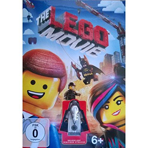 Preisvergleich Produktbild The Lego Movie [DVD] inklusive Minifigur Vitruvius [Limited Edition]