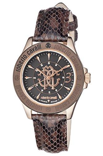 Roberto Cavalli: negro reloj de mujer