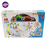 #6: Kiditos Baby Fitness Play Gym with 68 Songs & Lights Musical Baby Exercise Toy Rattles for 3 Months + Baby