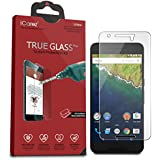 Huawei Google Nexus 6P Screen Protector, iCarez [Tempered Glass] Highest Quality Premium Easy Install - Retail Packaging 2015