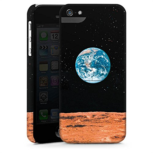 Apple iPhone X Silikon Hülle Case Schutzhülle Erde Mond Moon View Premium Case StandUp