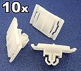 10x Außentür Schutz/Fußschutzleiste/Gummistreifen Zierleistenklammern