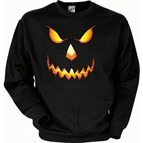 en Kürbis - Gruseliger USA Sweater mit Motiv als Geschenk für Halloween (Gruseliger Als Halloween)